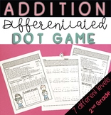 Addition Dot Game - Differentiated