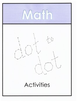 Addition Dot to Dot Activities