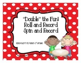 Addition Double Fact Roll and Record