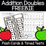 Addition Doubles Flash Cards & Timed Tests Freebie