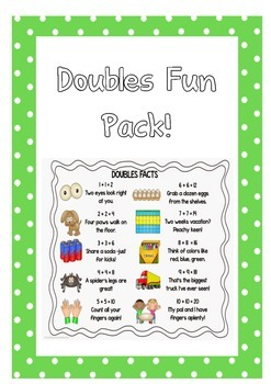 Addition Doubles Fun Pack