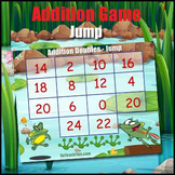Addition Doubles & 2 Times Table Game - Jump