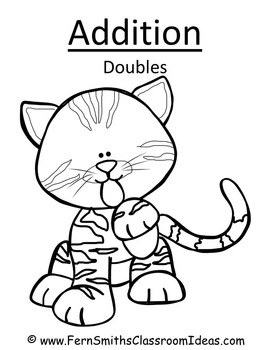 Addition Doubles Centers A Quick and Easy to Prep Center and Printables