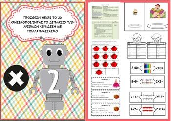 Addition Doubles Lesson Plan  (ΔΙΠΛΑΣΙΑ - ΣΧΕΔΙΟ ΜΑΘΗΜΑΤΟΣ)