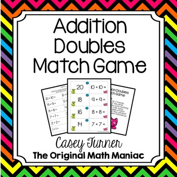 Addition Doubles Match Game