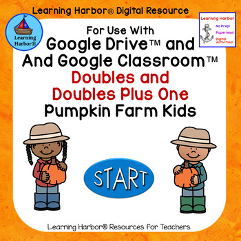 Addition Doubles and Doubles Plus One Pumpkin Farm Kids