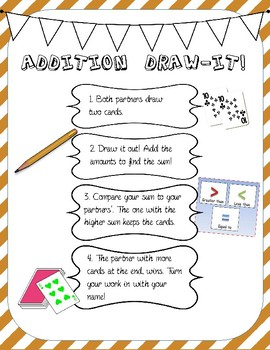 Addition Draw It Game