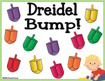 Addition- Chanukah Dreidel Bump!