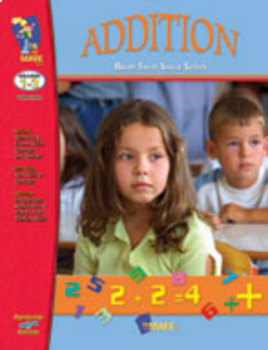 Addition Practice: Build Their Skills Workbook Grades 1-3