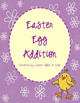 Addition Easter Egg Activity