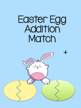 Addition Easter Egg Matching Game