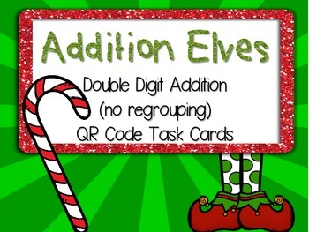 Addition Elves: Double Digit Addition (no regrouping) Task