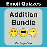 Addition Emoji Quiz Bundle