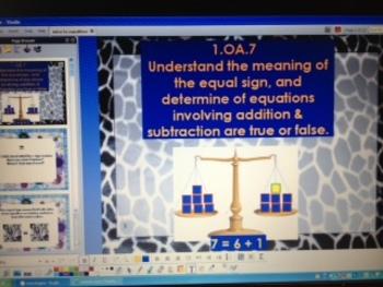 Addition Equalities - CCSS - 1.OA.7 - Algebra - ActivInspire Flipchart
