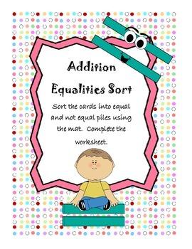 Addition Equalities