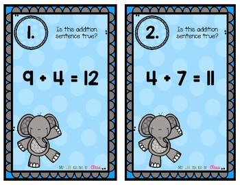 Addition Equality Packet
