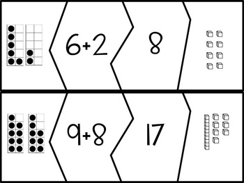 Addition Equation Number Puzzles
