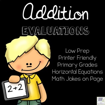 Basic Addition Evaluations