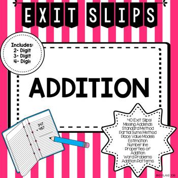 Addition Exit Slips