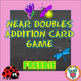 Near Doubles Addition FREE Snap Card Game