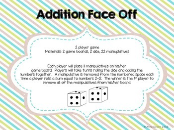Addition Face Off