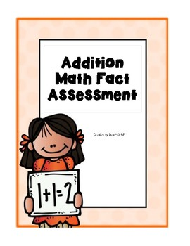 Addition Fact Assessment