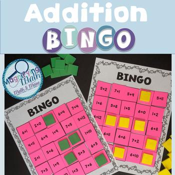 Addition Fact BINGO