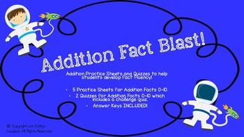 Addition Fact Blast!