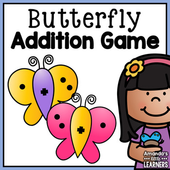 Subitizing Addition Game - Fact Butterflies