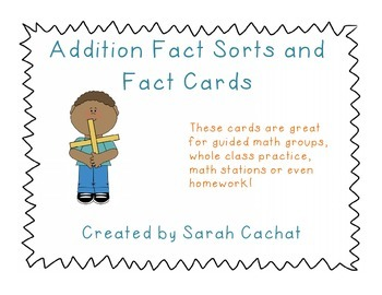Addition Fact Sorts to 20