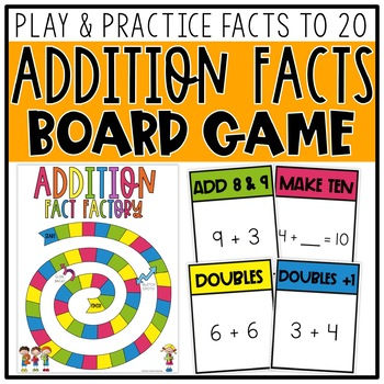 Addition Facts Board Game