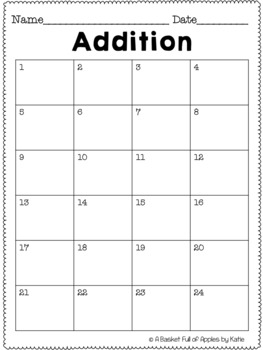 Addition Fact Families 3 and 4: Cooperative learning Peer-Check-Review