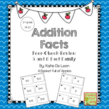 Addition Fact Families 5 and 6: Cooperative Learning Peer-Check-Review