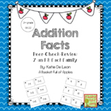 Addition Fact Families 7 and 8: Cooperative Learning Peer-