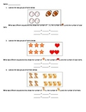 Addition Fact Family Worksheet - Guided with Pictures