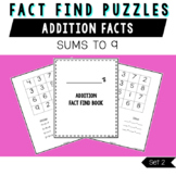 Addition Fact Finds Set 2