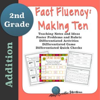 Addition Fact Fluency: Make Ten Activities, Assessments, a