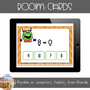 Addition Fact Fluency - Boom Cards - Single Digit Addends