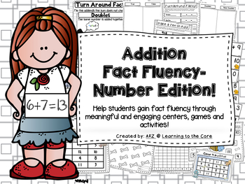 Addition Fluency Centers