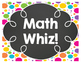 Addition Fact Fluency Clip Chart - Bright & Bold w/ Chalkboard