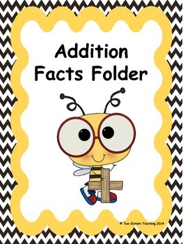 Addition Fact Fluency Folder
