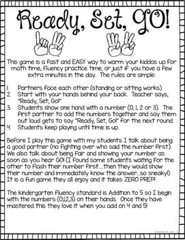 #SPRINGSAVINGS Addition Fact Fluency Kindergarten