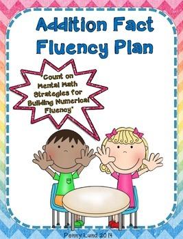 Addition Fact Fluency Plan