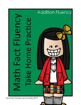 Addition Fact Fluency Take Home Activities