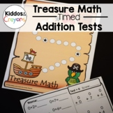 Addition Fact Fluency Timed Tests- Treasure Math