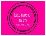 Addition Fact Fluency to 20 {FREEBIE}