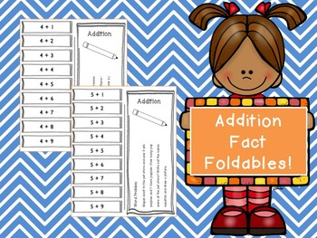 Addition Fact Foldable