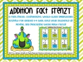 Addition Fact Frenzy SMARTBoard Flash Card Activity