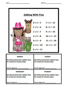 Addition Fact Logs CBCG Theme (0-9)