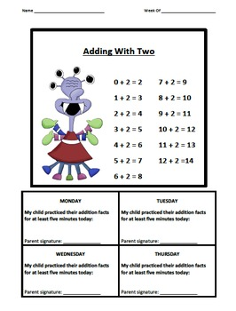 Addition Fact Logs Monster Theme (0-9)